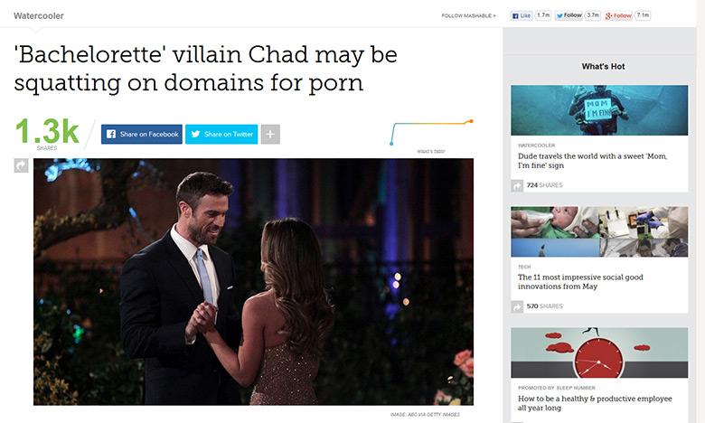 Mashable article.