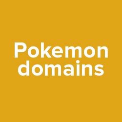 Pokemon domains lead to UDRP.