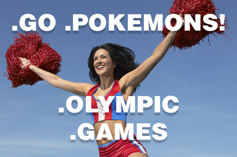 Olympic.Games like Pokemons.