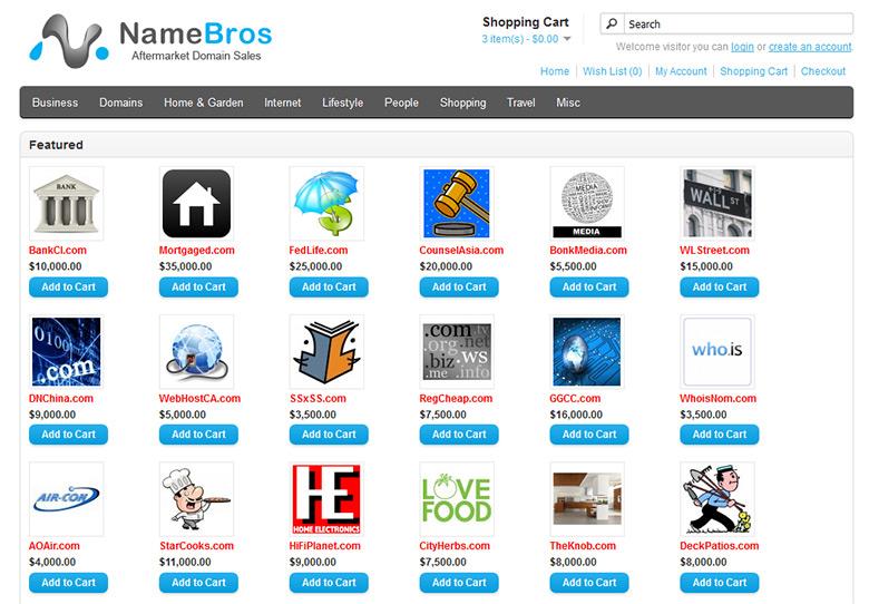 NameBros.com - a domain portfolio seller.