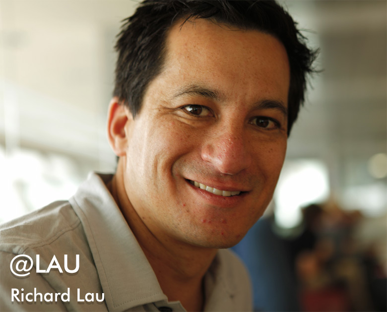 Richard Lau, owner of @LAU on Twitter.