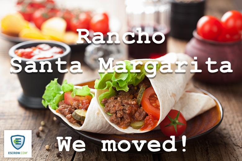 Rancho Santa Margarita no more for Escrow.com.