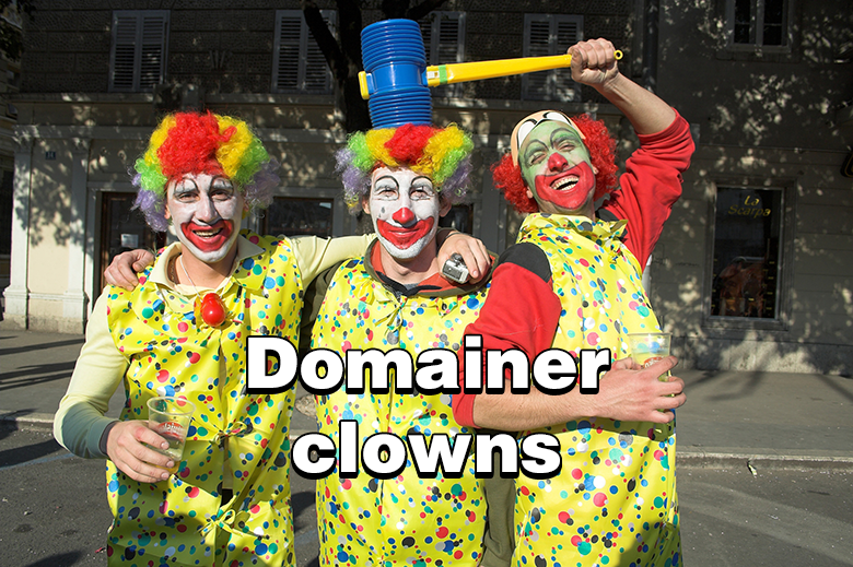 domainer-clowns