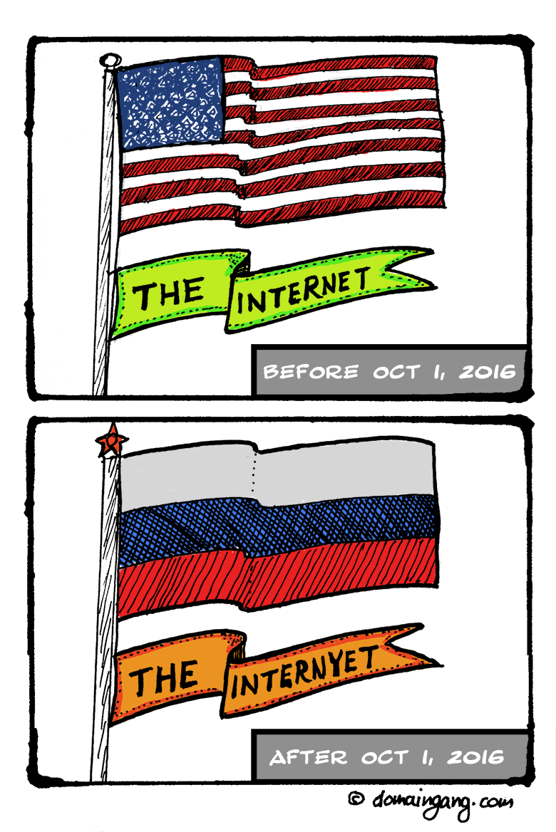 The End of the Internet. The Beginning of the Internyet.