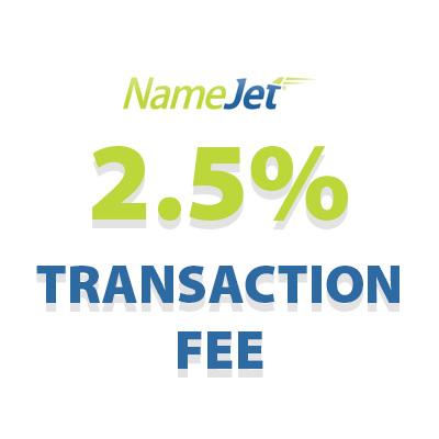 NameJet fee.