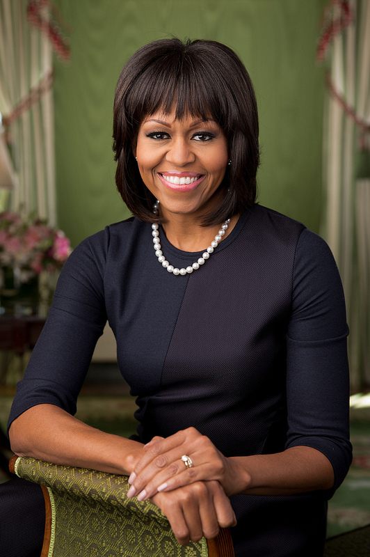 Michelle Obama - Official White House portrait.