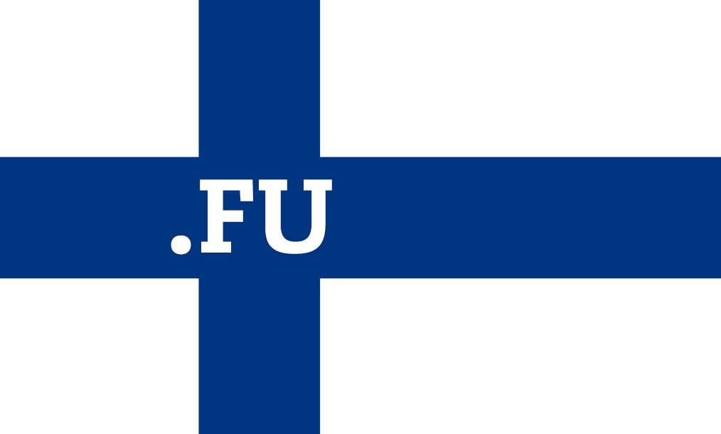 Finland + Suomi = .FU
