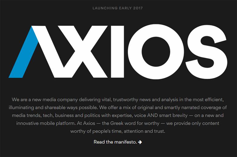 Axios com : 40 year old software company sells domain to