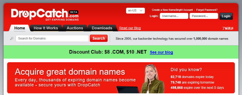 You can't list #domain names for sale at #DropCatch, unless